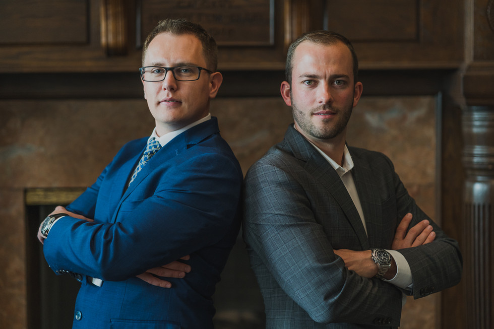 Business Headshot for Konstantin Kuligin and Mike Sheret , co-founders of Best Capital Bond