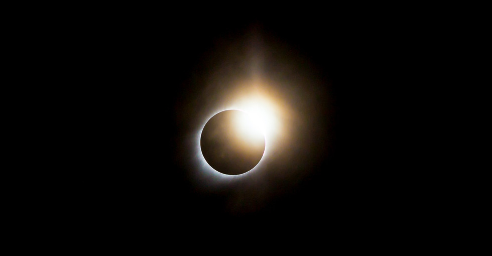 Calgary Landscape Photographer - Commercial prints - Total Eclipse of the Sun