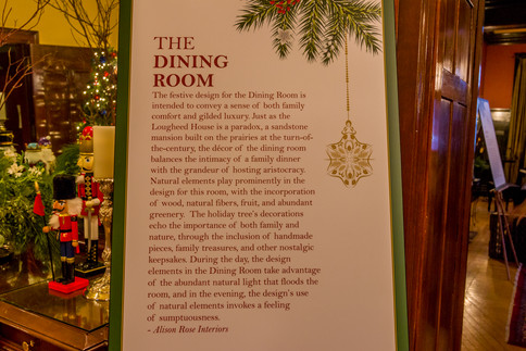 Christmas at Lougheed House (The Dining Room)