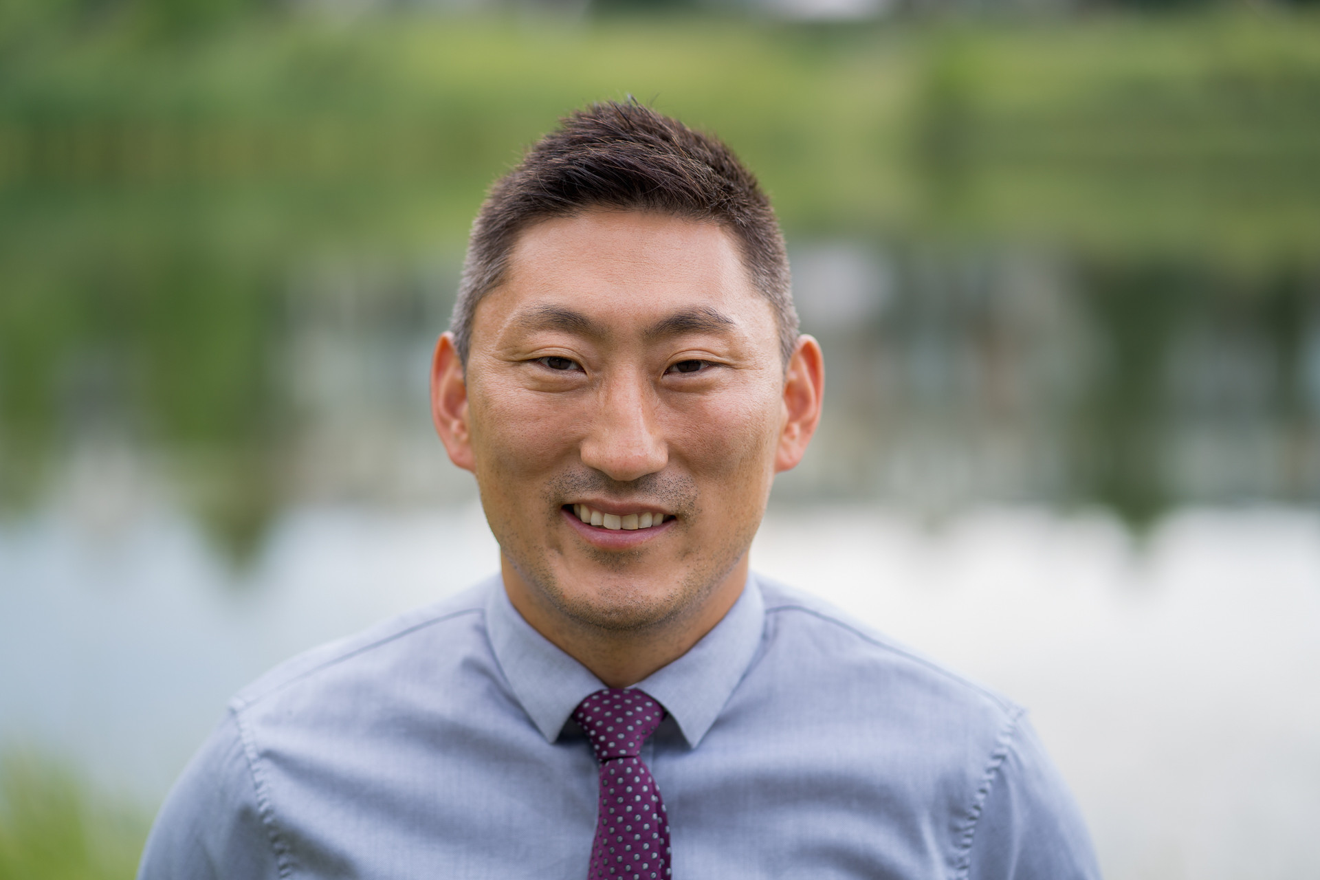 Calgary Agent headshot, Real Estate Agent. Clarence Kim