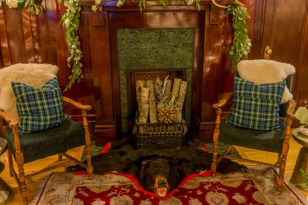 Christmas at Lougheed House (The Foyer)