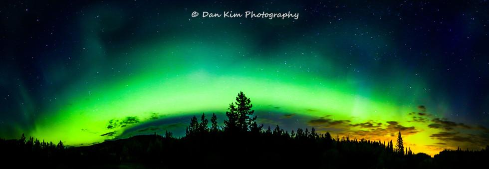 Calgary Landscape Photographer - Commercial prints - Allen Bill Bond Aurora Borealis