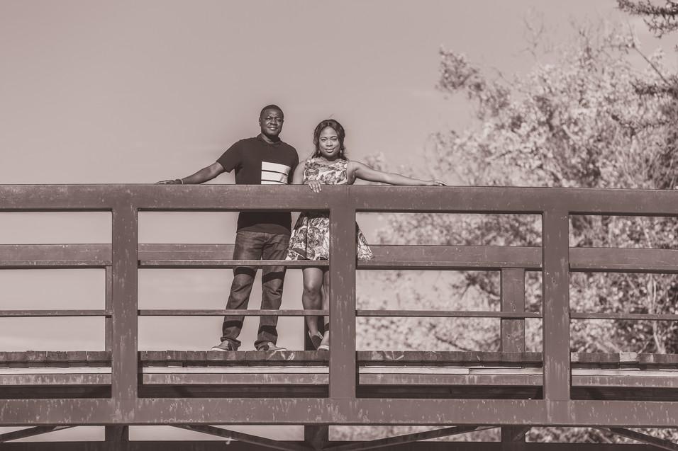 Kemi & Aminu Engagement (Calgary, AB)
