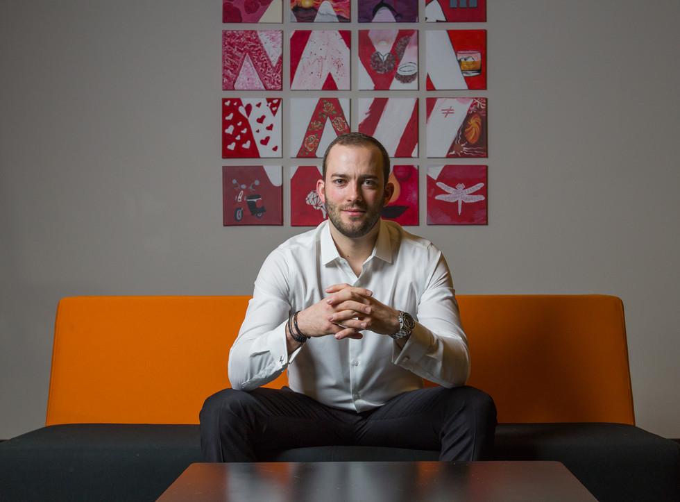 Calgary business headshot, Real Estate Investor. Michael Sheret
