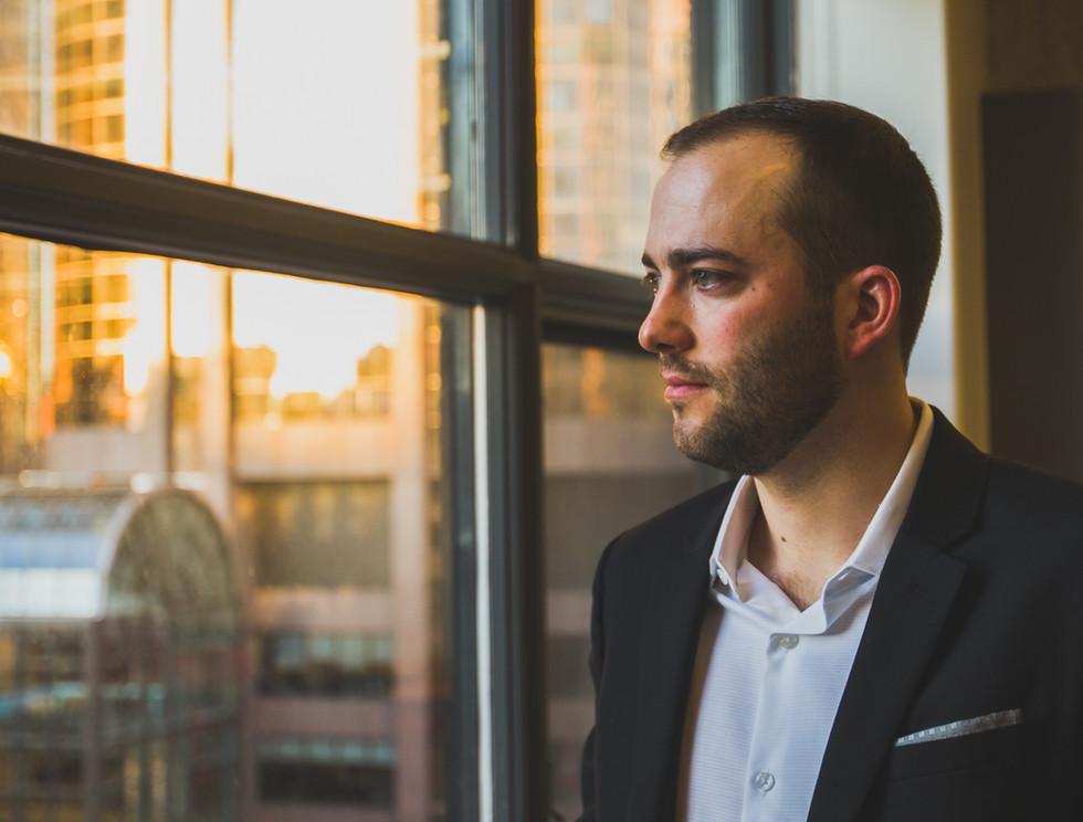 Window Calgary headshot, Real Estate Investor. Michael Sheret