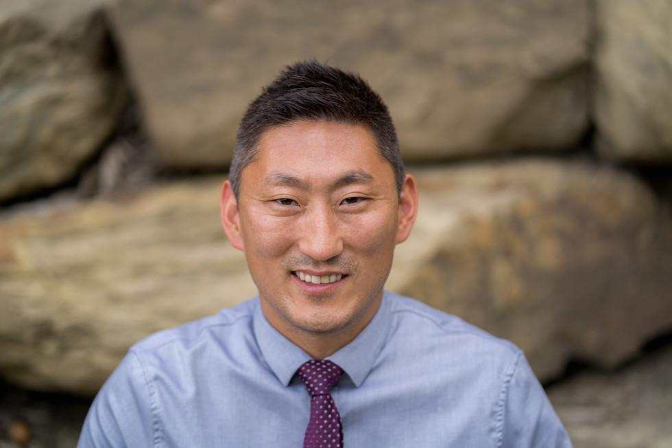Calgary Property Manager, headshot. Clarence Kim
