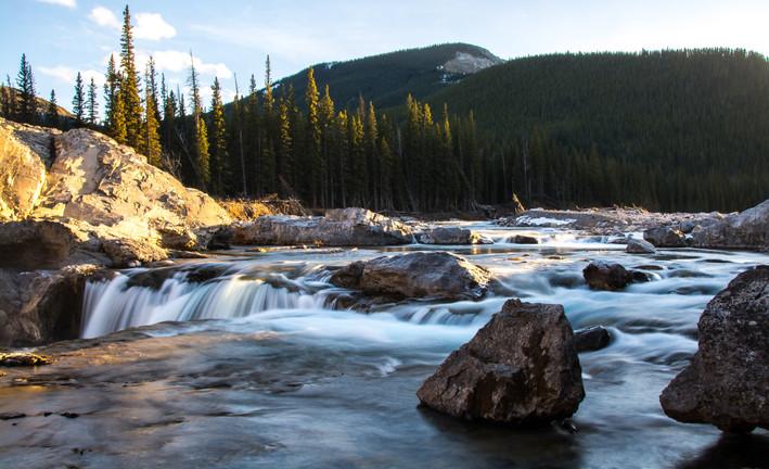 Above Elbow Falls