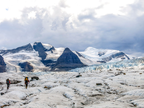 On the way to Mount Robson