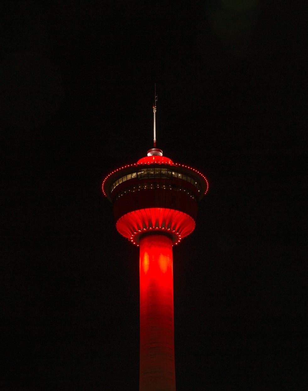 Calgary Commercial Photography - Calgary Tower