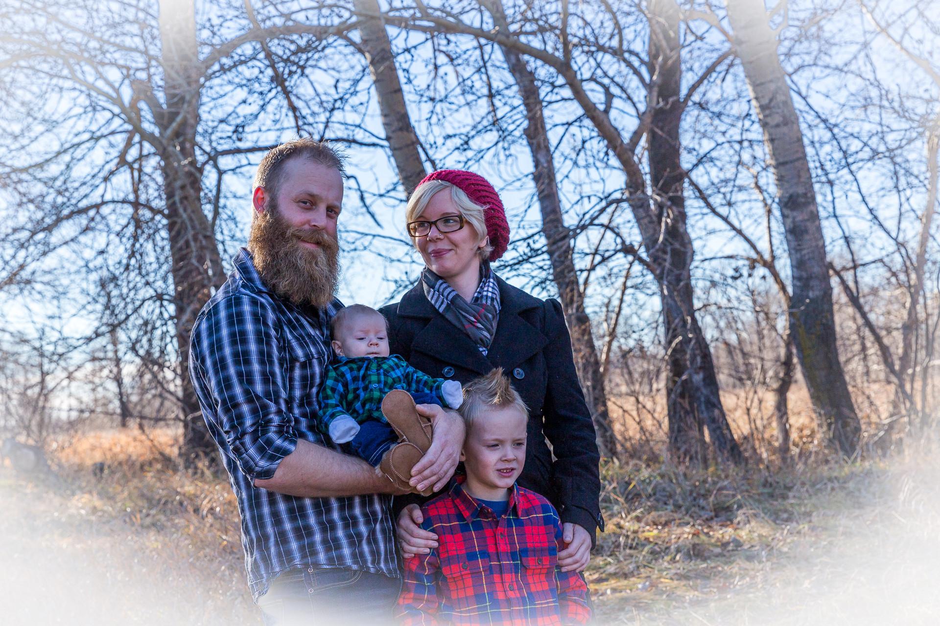 Calgary Photographer - Family Headshot photos