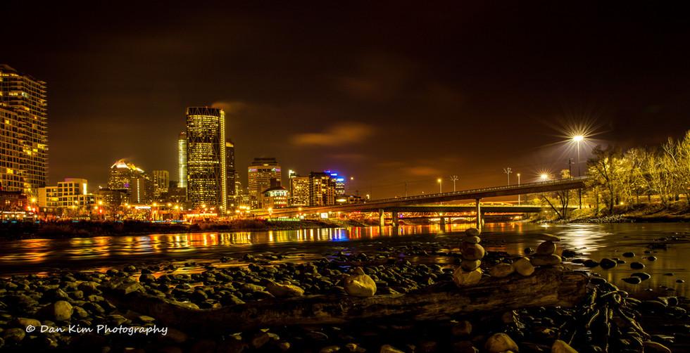 Calgary Commercial Photography - Calgary Downtown Skyline