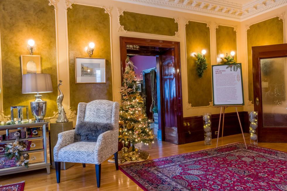 Calgary Commercial Photography - Lougheed House Christmas Event Interior Designers