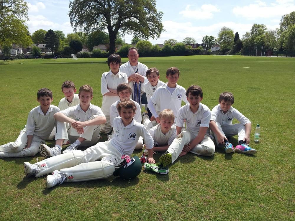 Winning cricket team Epsom