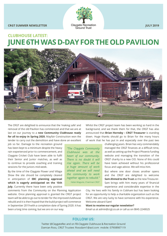 June 6th was D-Day for the old Pavilion