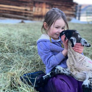 Ella smiling at lamb.jpg
