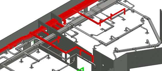 HVAC Shop & Coordination Drawings