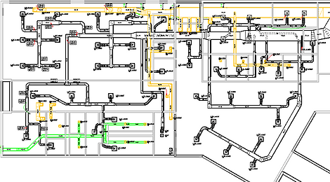 HVAC Duct Layout & Design