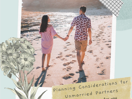Planning Considerations for Unmarried Partners