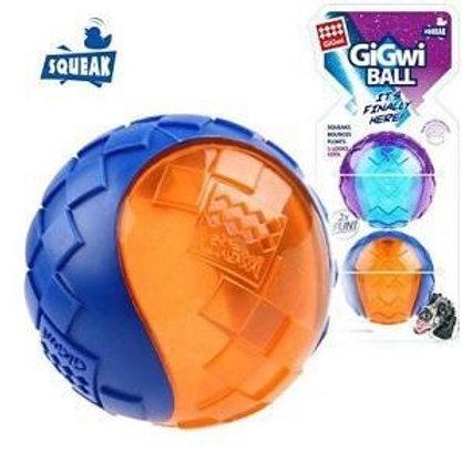 GIG squeaker ball 2 stuks