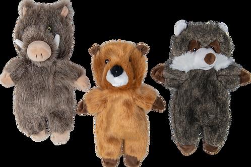 Flatties jv beer, marmot of everzijn 33 cm