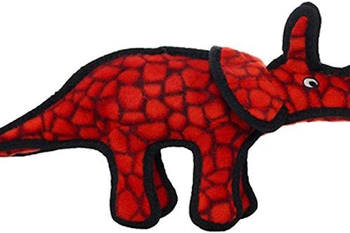Tuffy Jr Dinosaur Triceratops Dog Toy