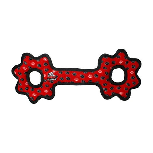Tuffy ultimate tug o gear red paw