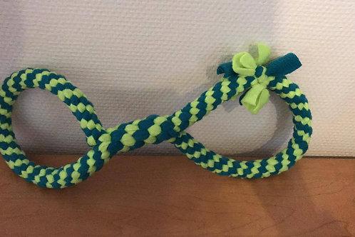 Fleece strik 40cm groen groen fluo