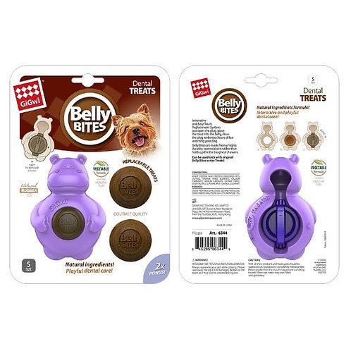 Belly bites small nijlpaard