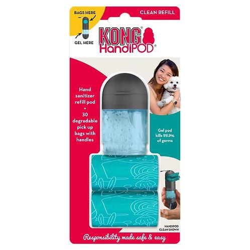Kong HandiPOD Clean dispenser navulling
