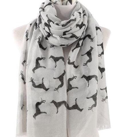 Sjaal galgo grijs