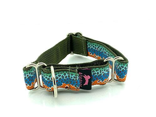2,5 cm martingal halsband