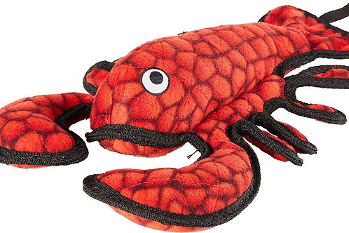 Tuffy Ocean Creatures Lobster Dog Toy diverse maat