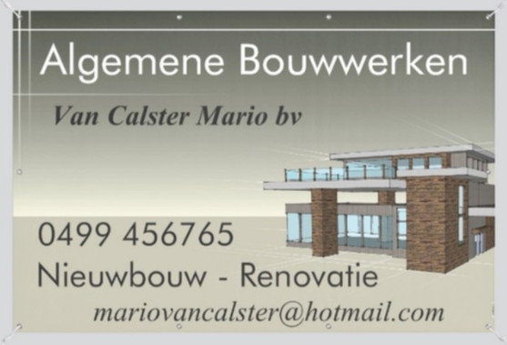 Algemene Bouwwerken VanCalster Maria BV.