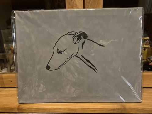 Handgeschilderd 29/39 cm