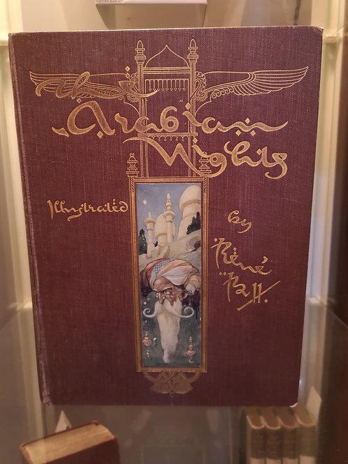 Arabian Nights illustrated by Rene Bull