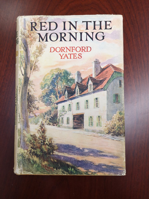 Red in the Morning by Dornford Yates