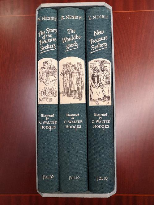 The Treasure Seekers Trilogy by Edith Nesbit