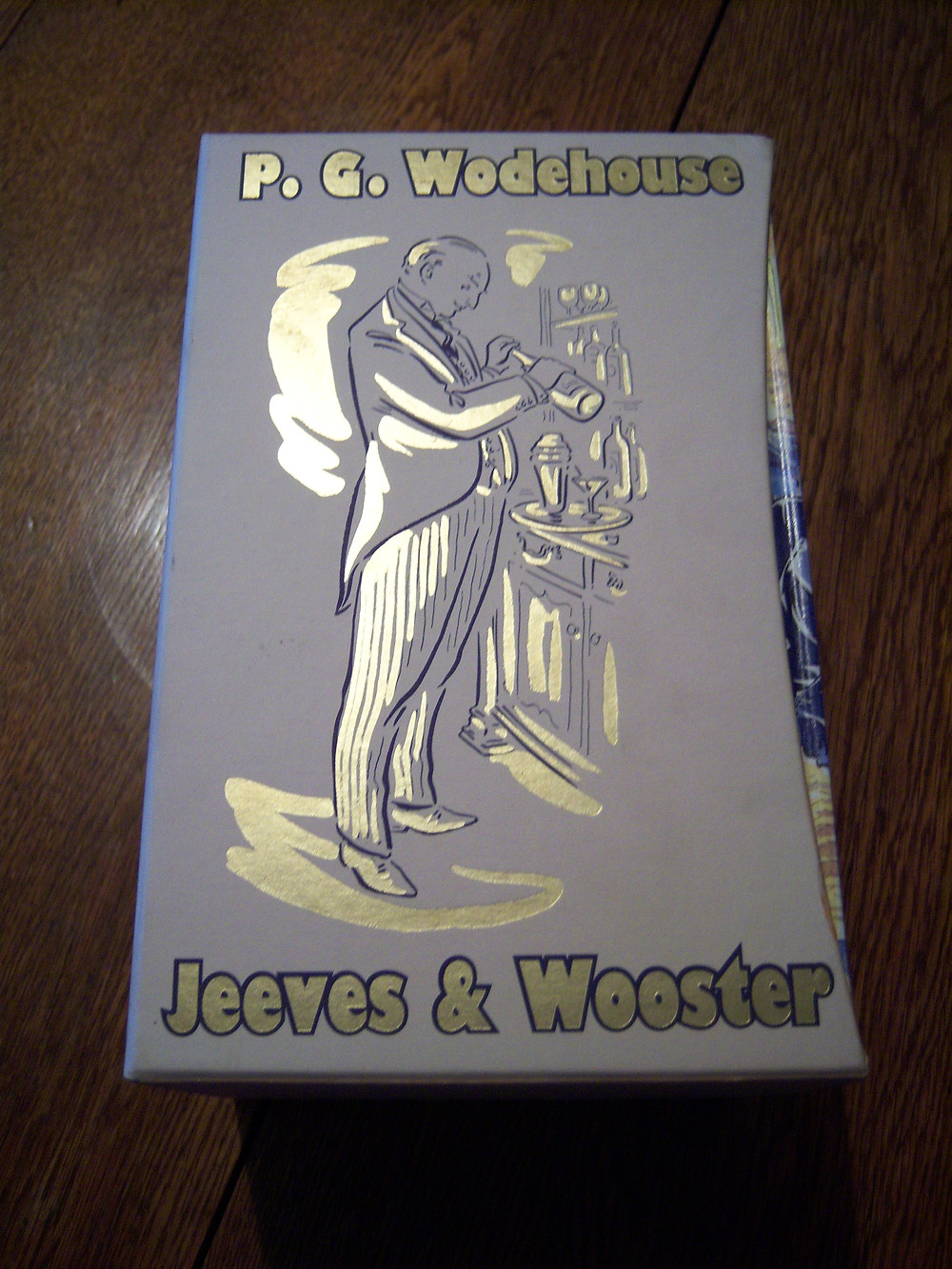 Folio Society Jeeves and Wooster box