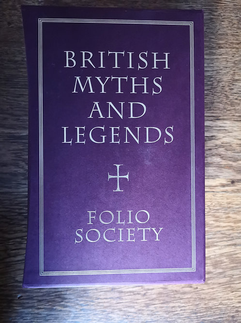 British Myths and Legends by Richard Barber