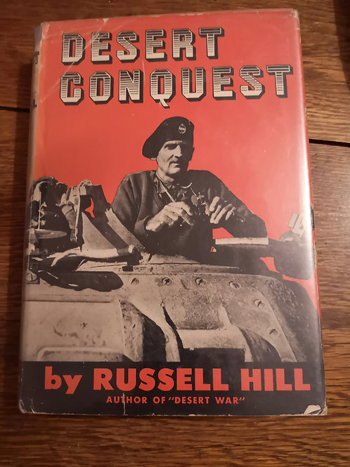 Desert Conquest by Russell Hill