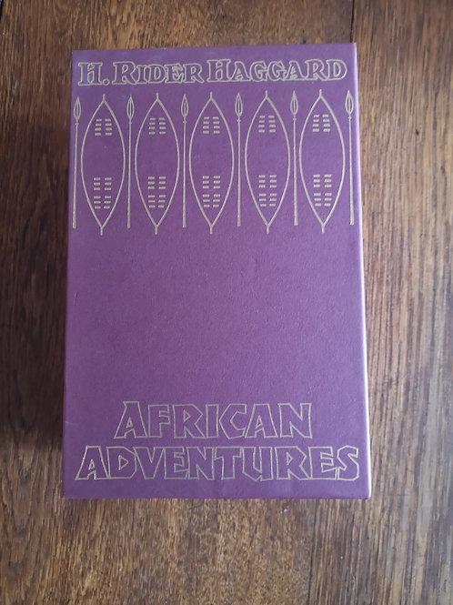 African Adventures by H. Rider Haggard