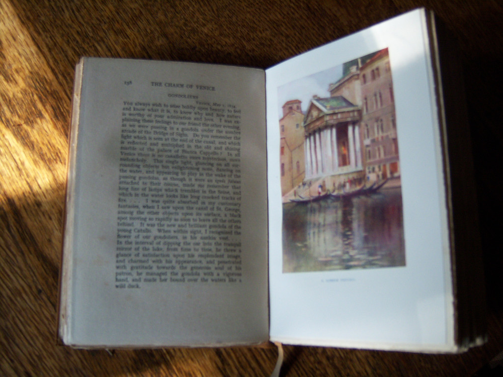 Charm of Venice illustrative plate