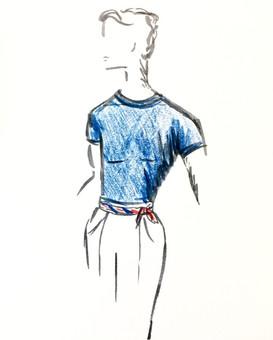 'Bastille Day' Menswear Design