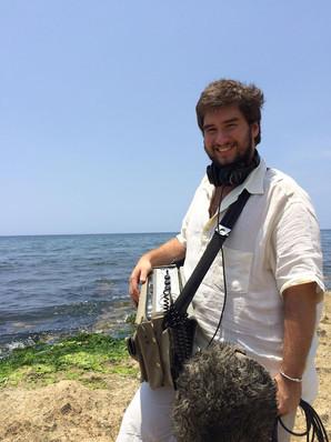 o mar de La Puntilla em Havana com Nagra