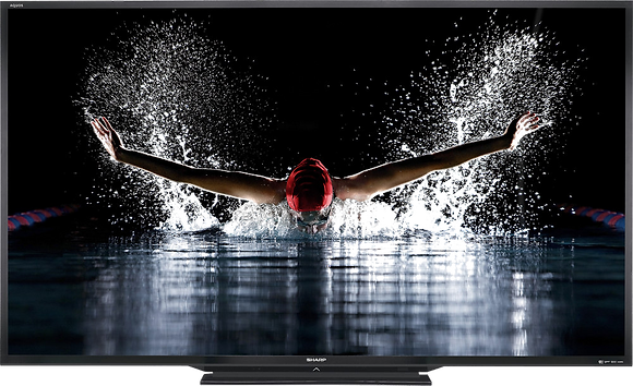 "Sharp 90"" Aquos 6 Series 3D LED TV"