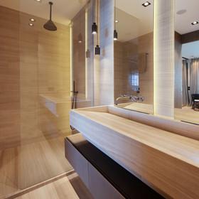 Bathroom side view
