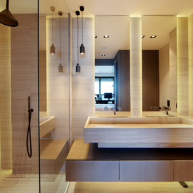 Bathroom frontal view