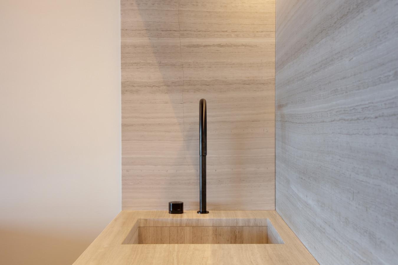 Kitchen tap details