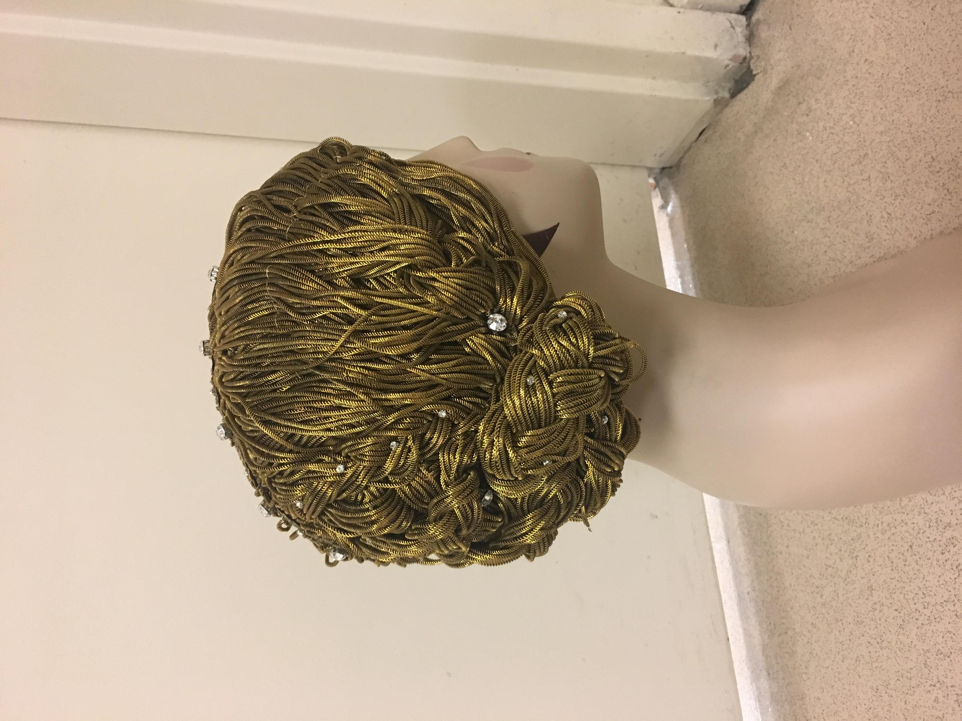 Bullion Wig Hat