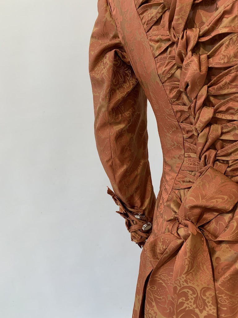 Small Bustle back detail